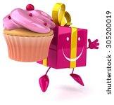 fun gift | Shutterstock . vector #305200019