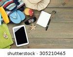 vacation | Shutterstock . vector #305210465
