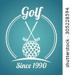 sports digital design  vector... | Shutterstock .eps vector #305228594