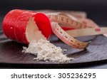 scoop of whey protein isolate... | Shutterstock . vector #305236295