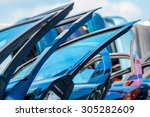 sales of used parts for cars... | Shutterstock . vector #305282609