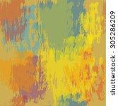 seamless grunge background.... | Shutterstock .eps vector #305286209