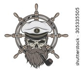 ������, ������: Captain Skull in a