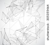 vector illustration of black... | Shutterstock .eps vector #305355464