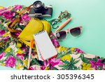 close up lifestyle photo of... | Shutterstock . vector #305396345