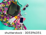 close up lifestyle photo of... | Shutterstock . vector #305396351