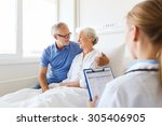 medicine  age  health care and... | Shutterstock . vector #305406905
