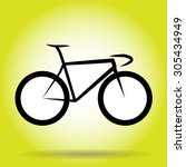 overall winner bicycle vector | Shutterstock .eps vector #305434949