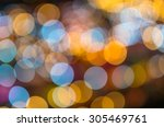 blurred photo bokeh of colorful   Shutterstock . vector #305469761