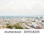 view hadyai town in thailand | Shutterstock . vector #305518205