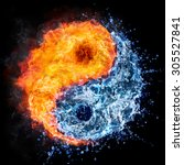 Fire and water   yin yang...