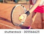 Close up portrait of tennis...