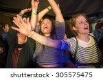 traena  norway   july 11 2015 ... | Shutterstock . vector #305575475
