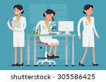 creative concept design on... | Shutterstock .eps vector #305586425