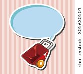 barrow theme elements | Shutterstock .eps vector #305630501