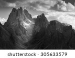 Dramatic Light In Dolomites...