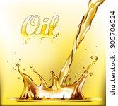 oil   Shutterstock .eps vector #305706524