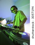 asian young adult male dj... | Shutterstock . vector #3057194