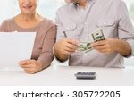 family  business  savings age... | Shutterstock . vector #305722205