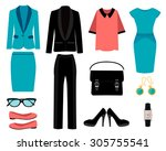 Set Of Business Clothes For...
