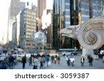 Globe At Columbus Circle  ...