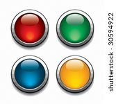 color buttons. | Shutterstock . vector #30594922
