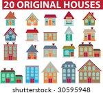 20 original colorful houses