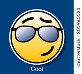 Vector Smiley Cool
