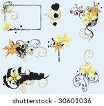set of design elements | Shutterstock .eps vector #30601036