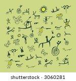 vector illustrations of rock...   Shutterstock .eps vector #3060281