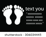foot | Shutterstock .eps vector #306034445