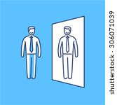 vector self awareness skills...   Shutterstock .eps vector #306071039
