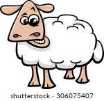 cartoon vector illustration of... | Shutterstock .eps vector #306075407