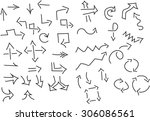 arrows | Shutterstock .eps vector #306086561