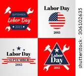 labor day. vector illustration | Shutterstock .eps vector #306102635