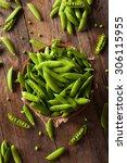 Organic Green Sugar Snap Peas...