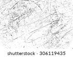 scratched texture | Shutterstock . vector #306119435