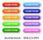 set of 'learn more' buttons | Shutterstock .eps vector #306121394