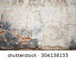 Abandoned Grunge Cracked Brick...