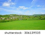 a panorama view of the... | Shutterstock . vector #306139535