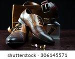 men's accessories | Shutterstock . vector #306145571