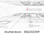 architecture background | Shutterstock .eps vector #306232349