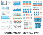 big set  collection of... | Shutterstock .eps vector #306262199
