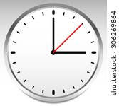 clock vector icon for time ... | Shutterstock .eps vector #306269864