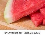 photos juicy watermelon sugar ... | Shutterstock . vector #306281237