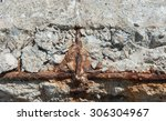 Old Concrete Rot  Rust...