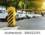 barrier on the car parking   Shutterstock . vector #306312191