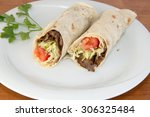 donner kebab   turkish donner... | Shutterstock . vector #306325484
