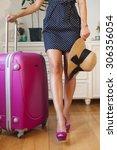 Fashion Woman  Going On Trip...