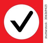 check mark symbol vector | Shutterstock .eps vector #306369425